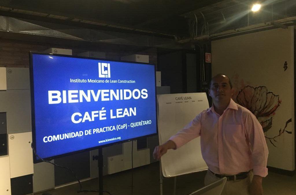 Café Lean de la CoP Querétaro