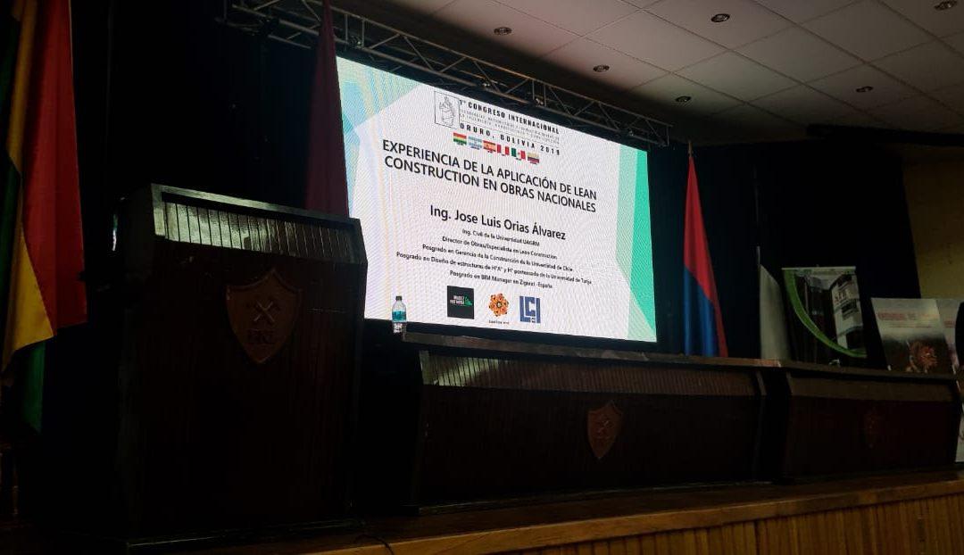 Participación del LCI Méxicoen el congreso nacional en Bolivia